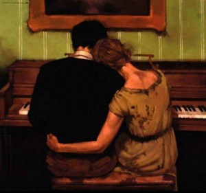 Playing their song, Joseph Lorusso