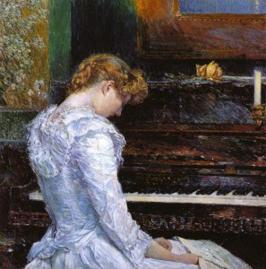 The Sonata 1893 Frederick Childe Hassam