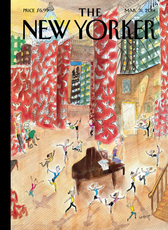 Tiny dancers_Sempe_31Mars_2014_Cover The New Yorker