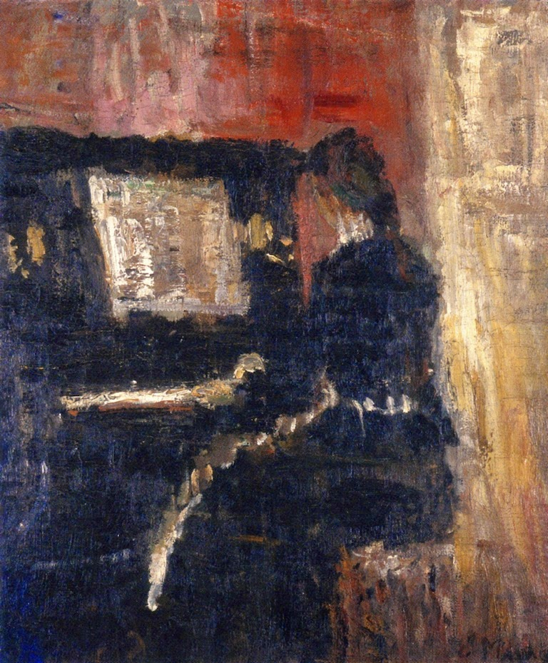 1886 Girl at the Piano oil on canvas 36 x 31.5 cm Munch Museum, Oslo