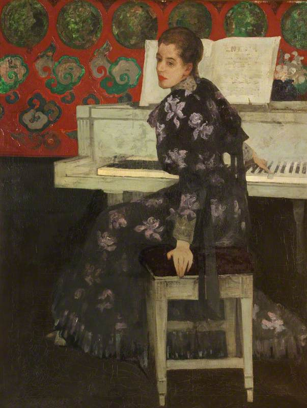 Melville, Arthur; The White Piano; Harris Museum & Art Gallery; http://www.artuk.org/artworks/the-white-piano-152279